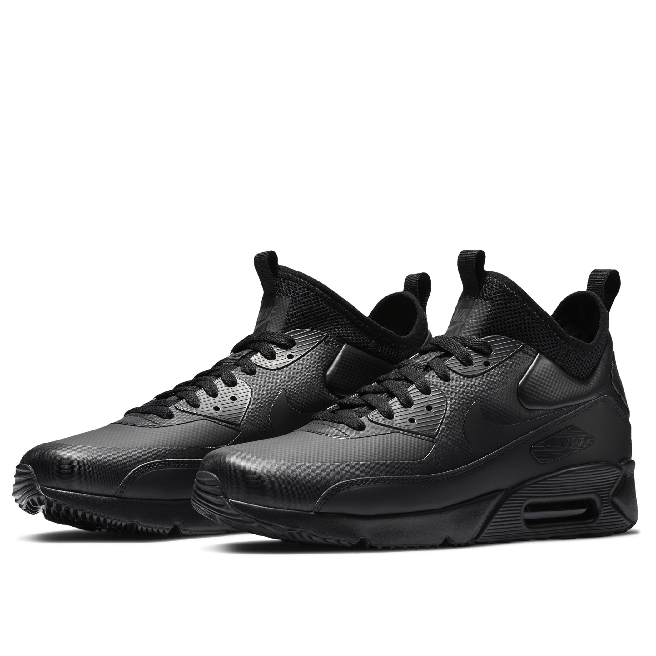 5a1f9f62 Мужские кроссовки Nike Air Max 90 Ultra Mid Winter Black/Black-Anthracite -  фото