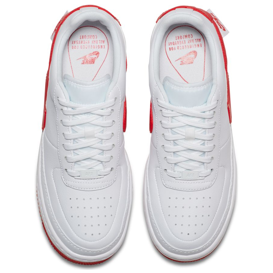 3fde567c Женские кроссовки Nike Air Force 1 Jester XX White/University Red - фото 5