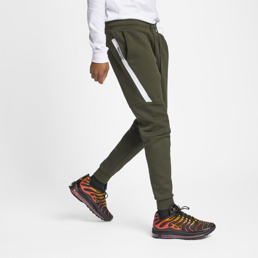 9d5bcfd3 Брюки Tech Fleece от Nike (805162-356) - продажа, цена, фото, описание