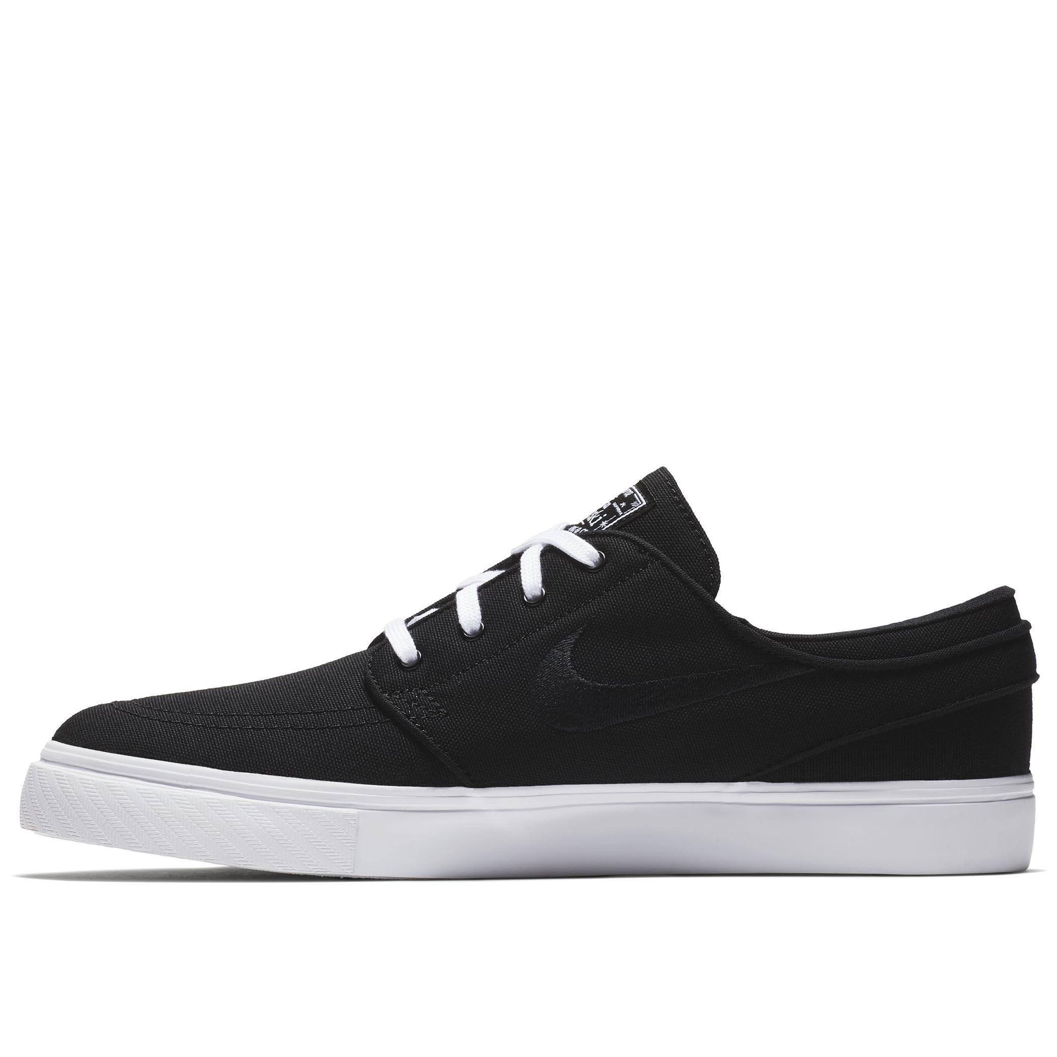 finest selection d9525 666a6 Мужские кеды Nike SB Zoom Stefan Janoski Canvas Black Black-White - фото 1