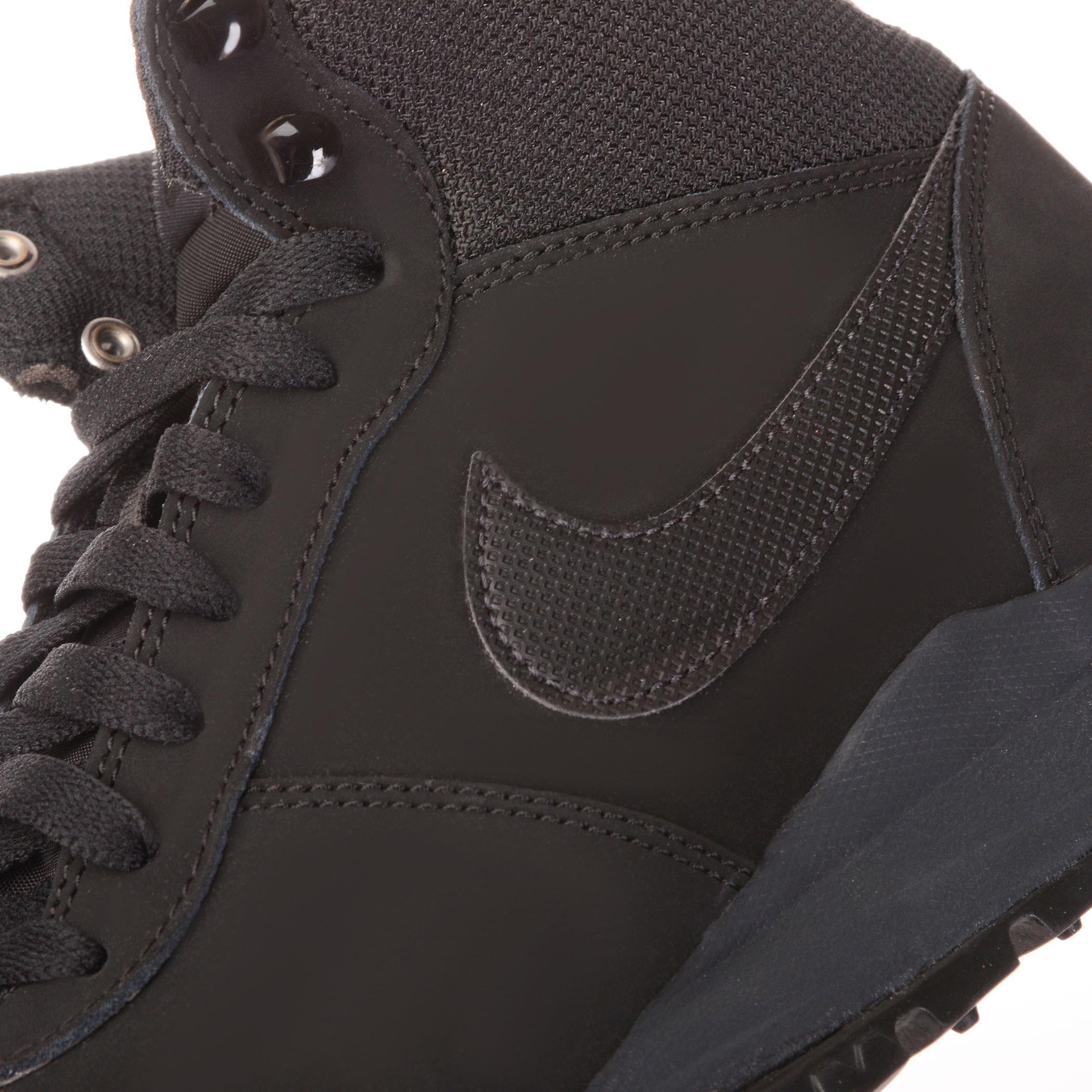 71ed4fba Мужские ботинки Nike Hoodland Suede Black/Black-Anthracite - фото 7