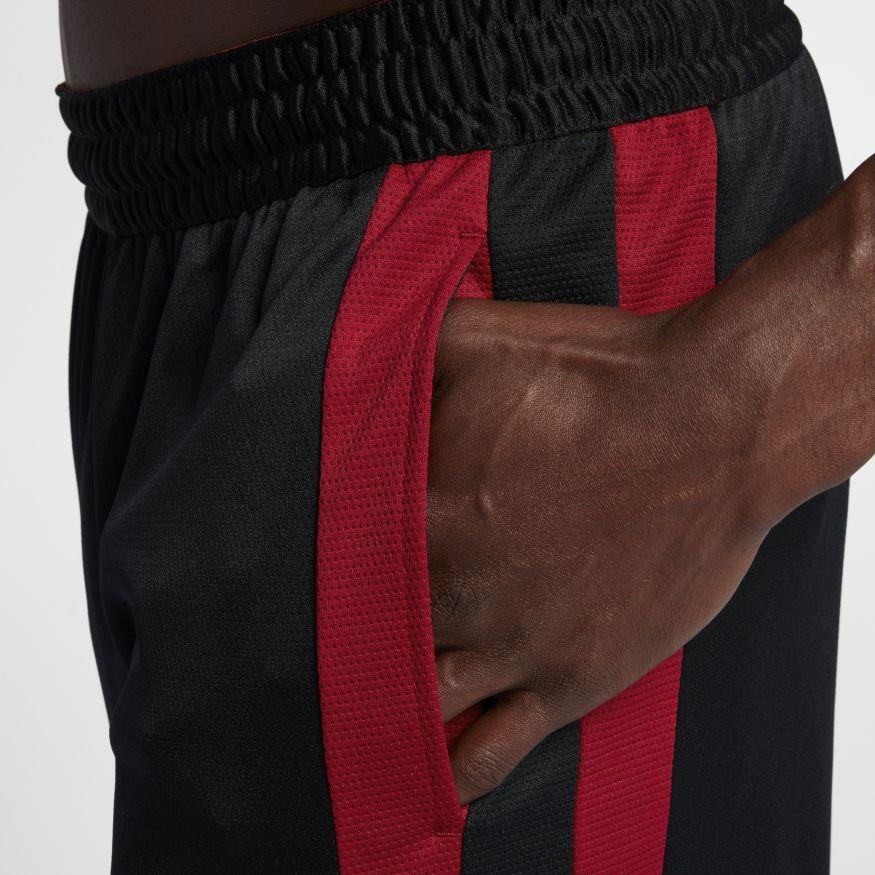 17efaed7 Мужские шорты Jordan Rise Short Basketball Black/Gym Red - фото 9. Нет в  наличии