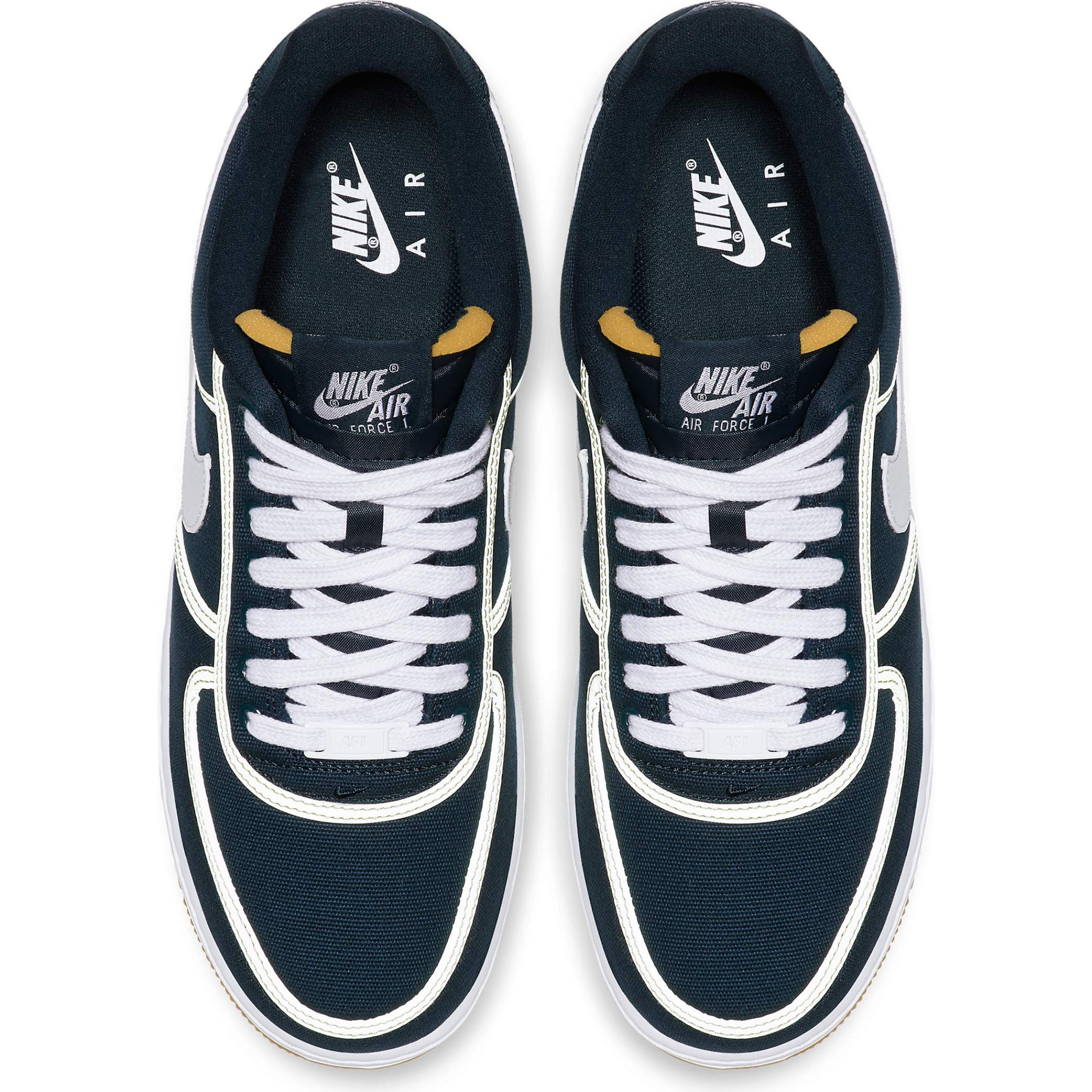 new products 87e03 6c15f Мужские кроссовки Nike Air Force 1  07 Premium Armory Navy White-Barely Volt