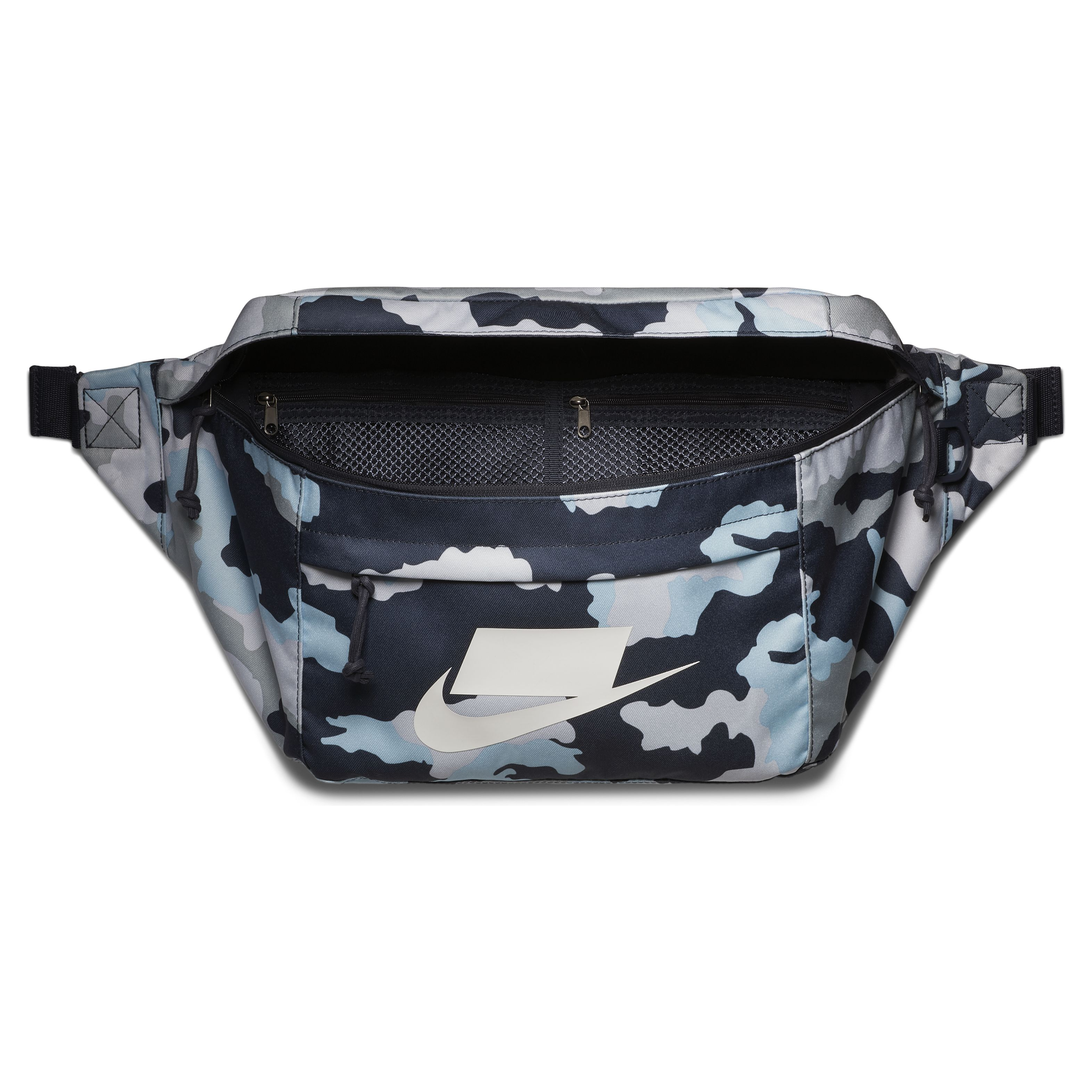 526f8a87 Сумка Nike Sportswear Tech Hip Pack All Over Printed Thunder Blue/Thunder  Blue/White