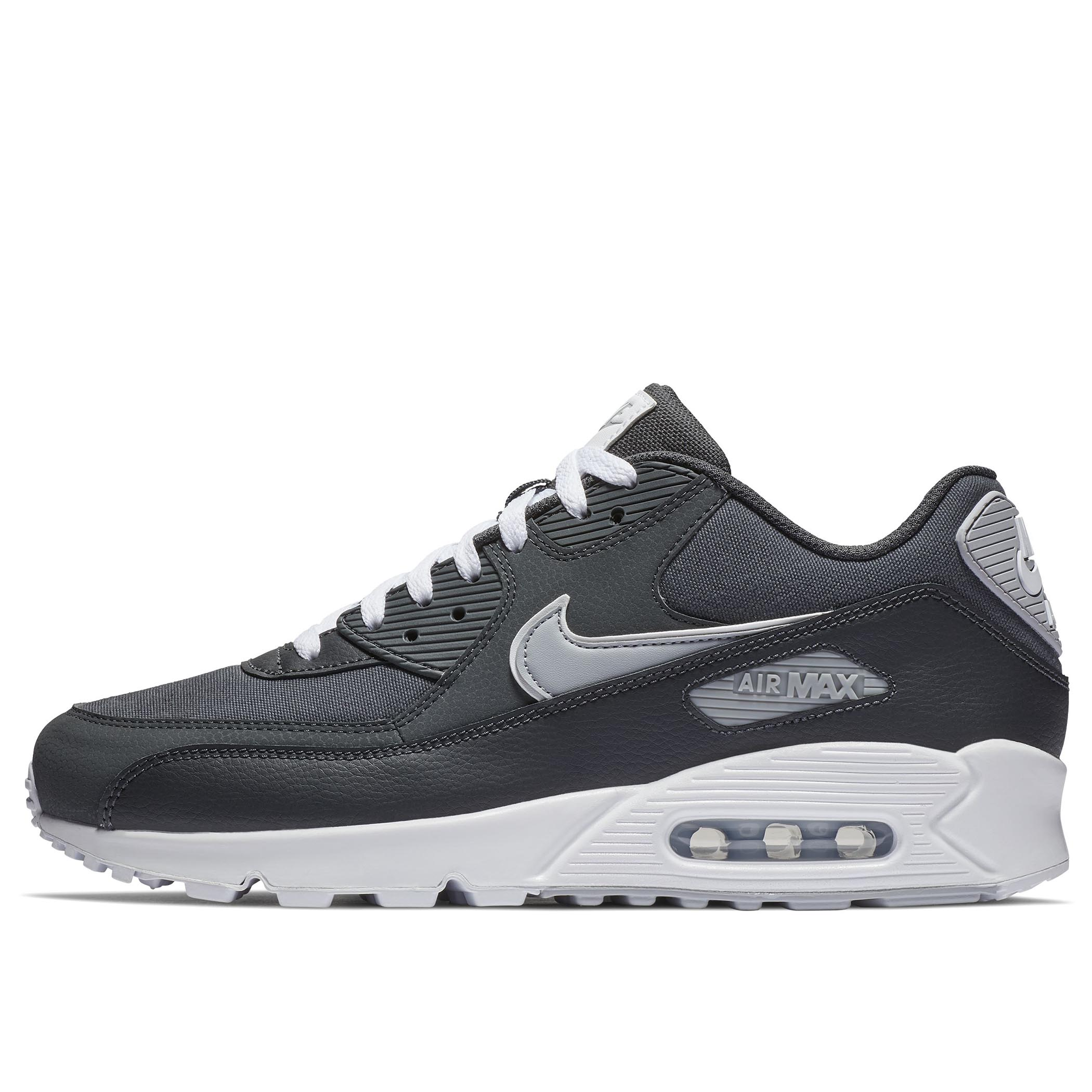 2b9f84bf Мужские кроссовки Nike Air Max 90 Essential Anthracite/Wolf Grey-White -  фото 1