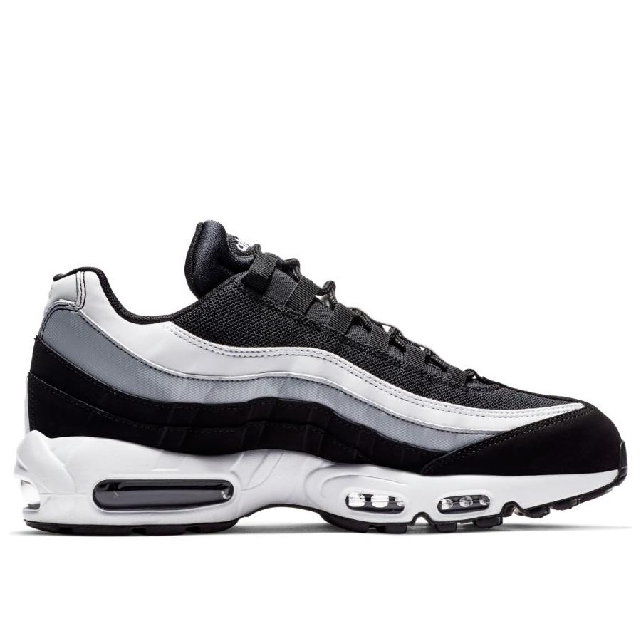 1e5c4ece Мужские кроссовки Nike Air Max 95 Essential Black/White-Wolf Grey - фото 3