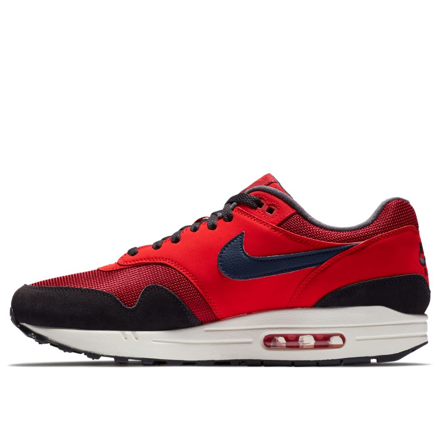 84fcd5a0 Мужские кроссовки Nike Air Max 1 Red Crush/Midnight Navy-University Red -  фото