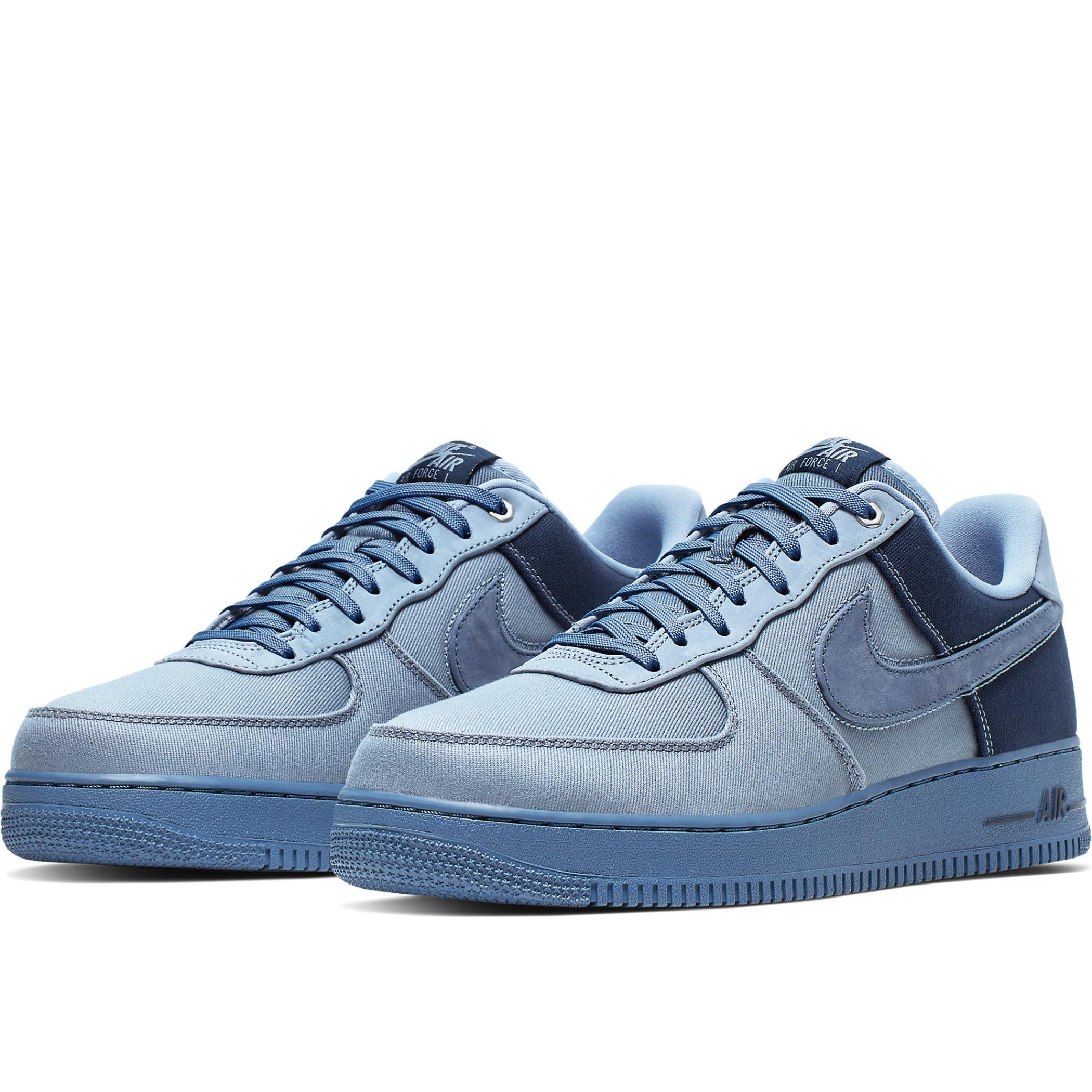 Nike Air Force 1 '07 PRM 3 Ashen SlateDiffused Blue