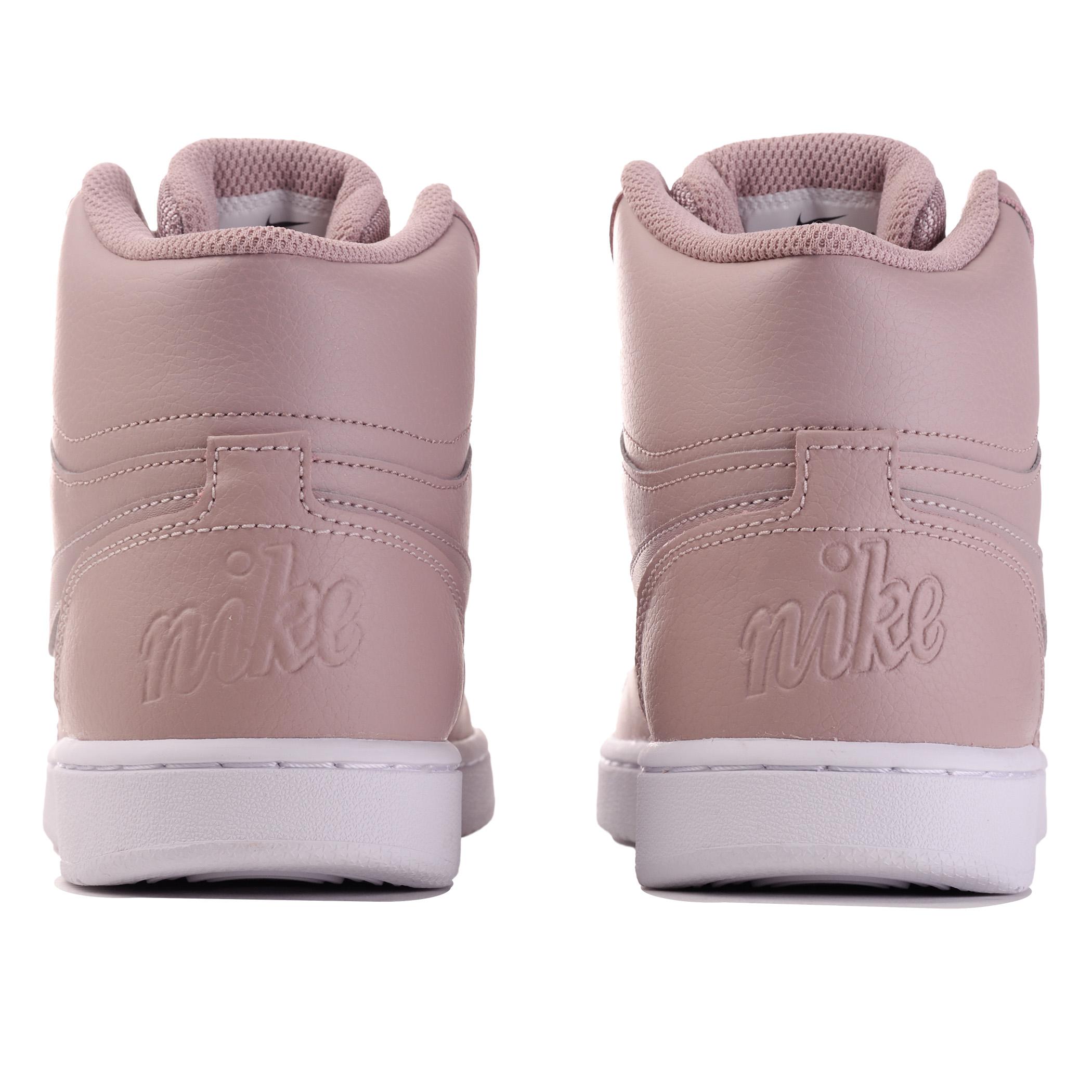 c4244e38 Женские кеды Nike EBERNON MID Diffused Taupe/Diffused Taupe - фото 4
