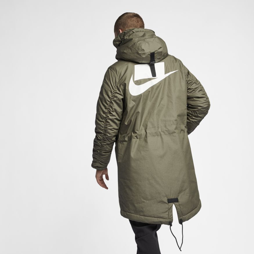 fda190a1 Мужская парка Nike Syn Fill Parka Twilight Marsh/Light Bone/White - фото 5