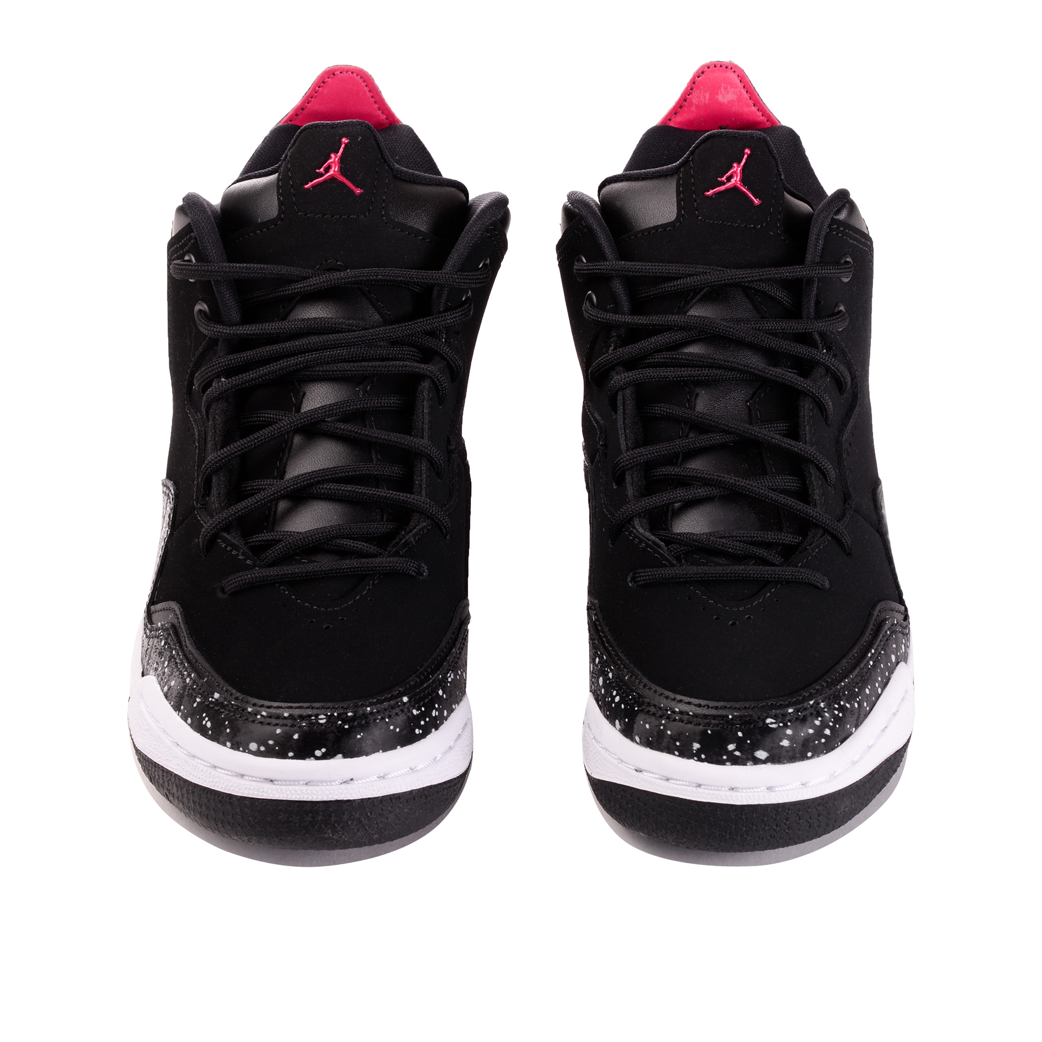 e0548fd1 Подростковые кроссовки Jordan Courtside 23 (GS) Black/White-Rush Pink - фото