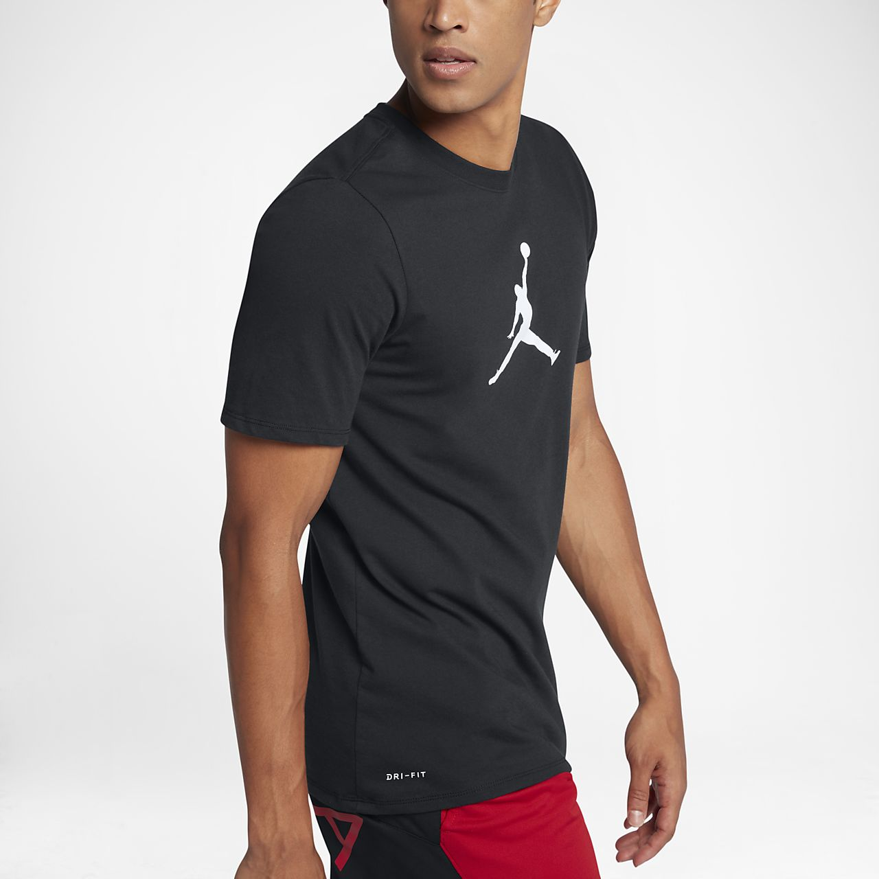 bfd6bc52268099 Мужская футболка Jordan JMTC Tee 23 7 Jumpman Black White - фото 4