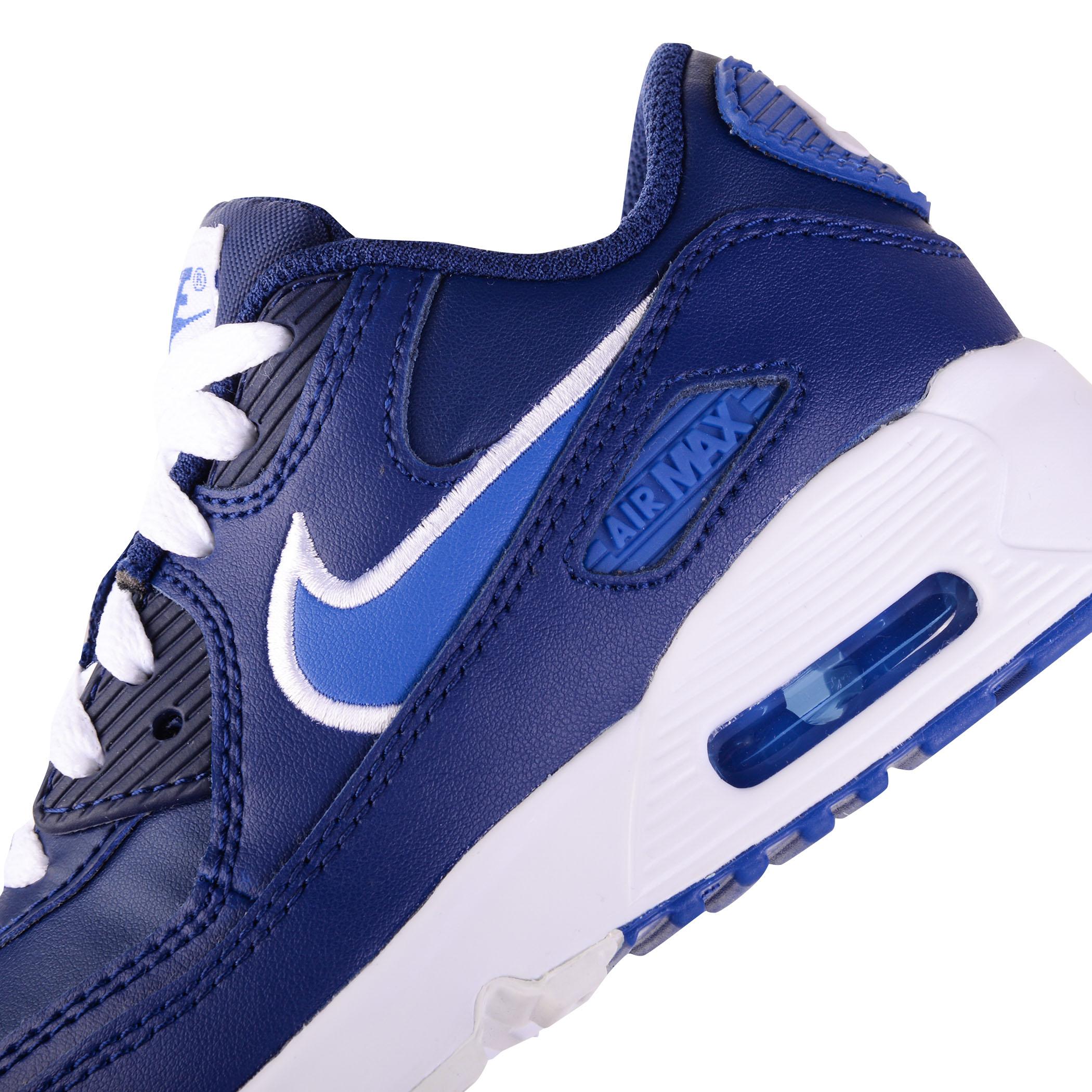 Schuhe NIKE Air Max 90 Ltr GS 833412 409 Blue VoidGame
