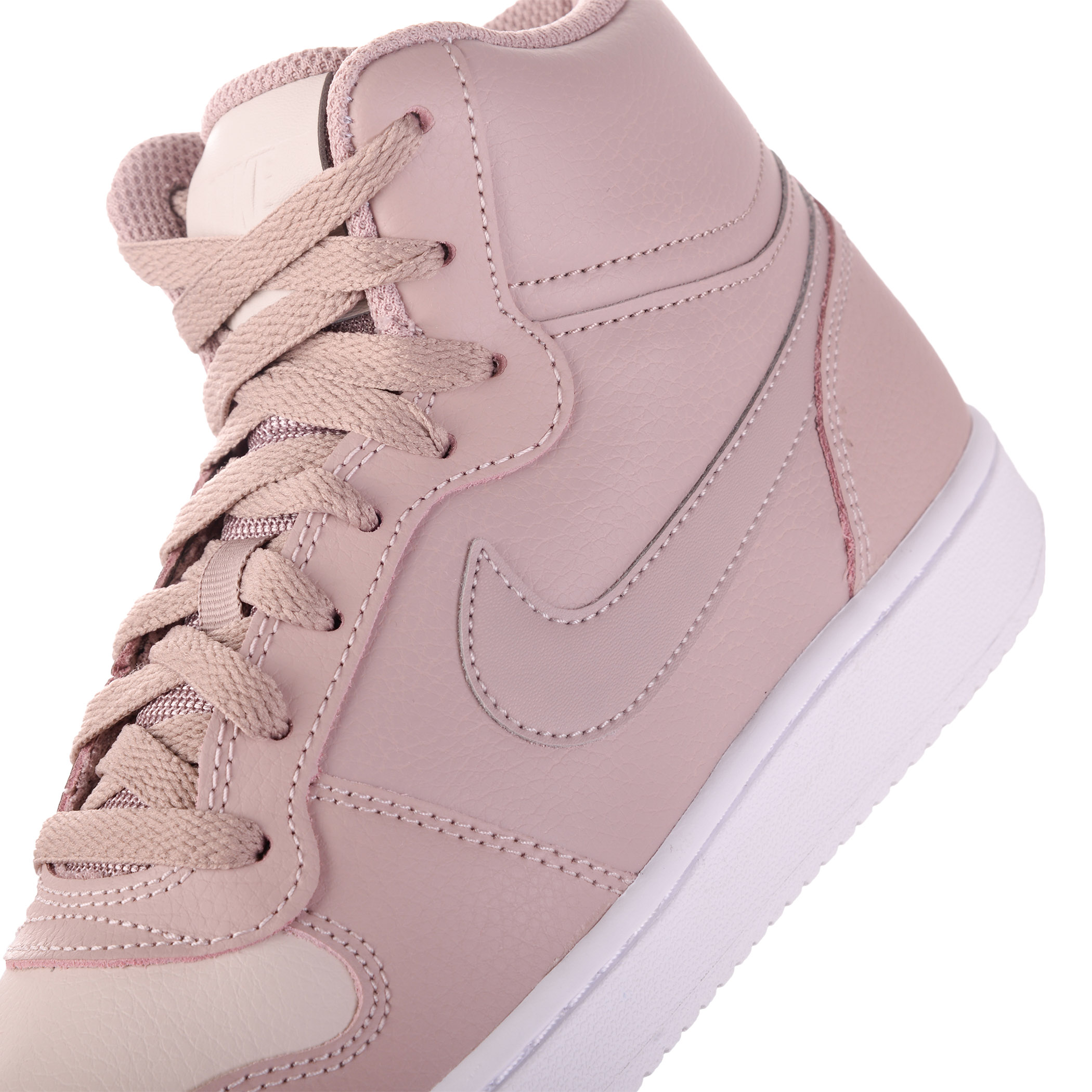 f51a7e5d Женские кеды Nike EBERNON MID Diffused Taupe/Diffused Taupe - фото 7