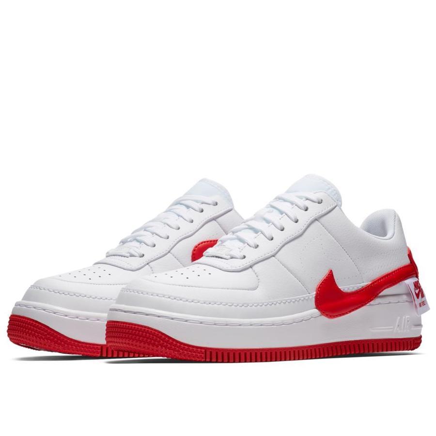 6e5e573f Женские кроссовки Nike Air Force 1 Jester XX White/University Red - фото 2
