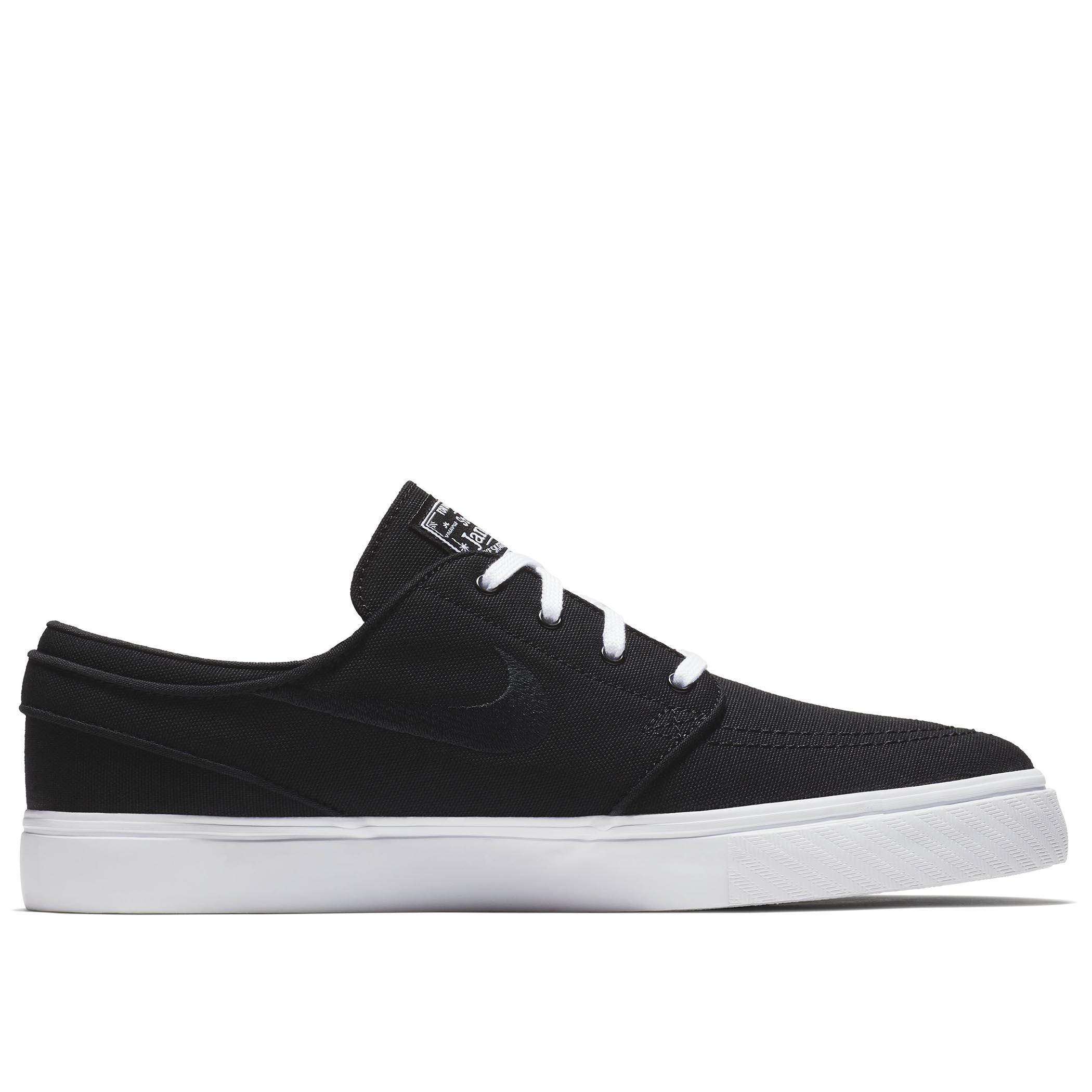 promo code 997f8 ae4dc Мужские кеды Nike SB Zoom Stefan Janoski Canvas Black Black-White - фото 6