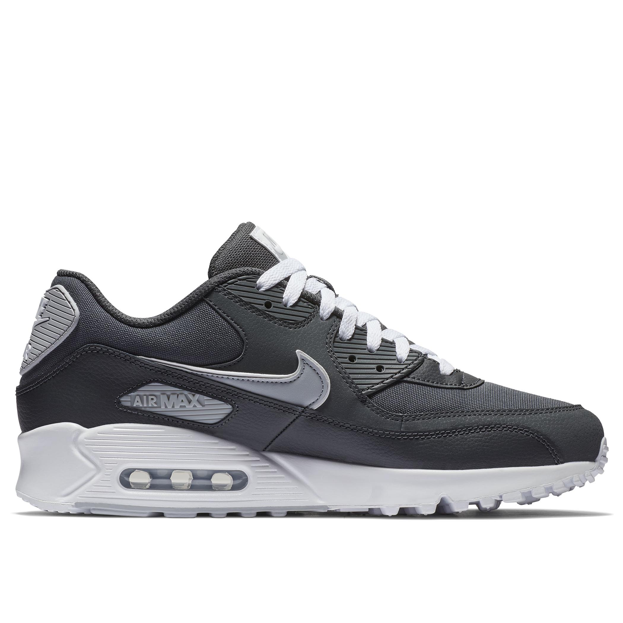 9d2362ca Мужские кроссовки Nike Air Max 90 Essential Anthracite/Wolf Grey-White -  фото 5