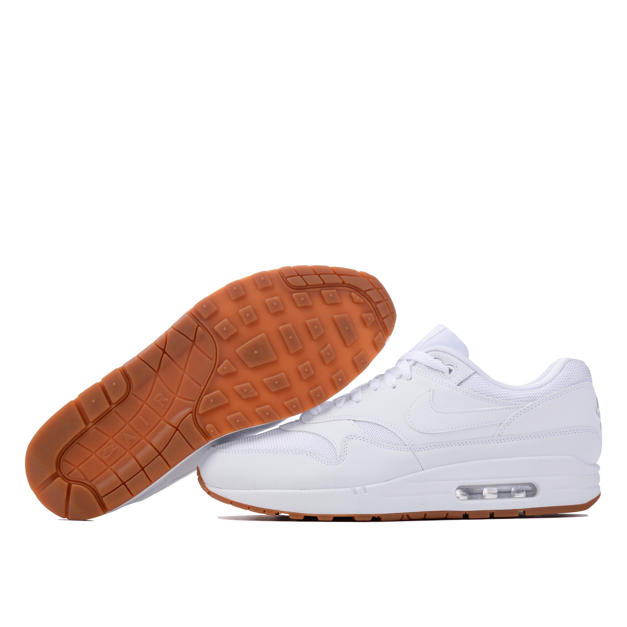 air max 1 white white gum