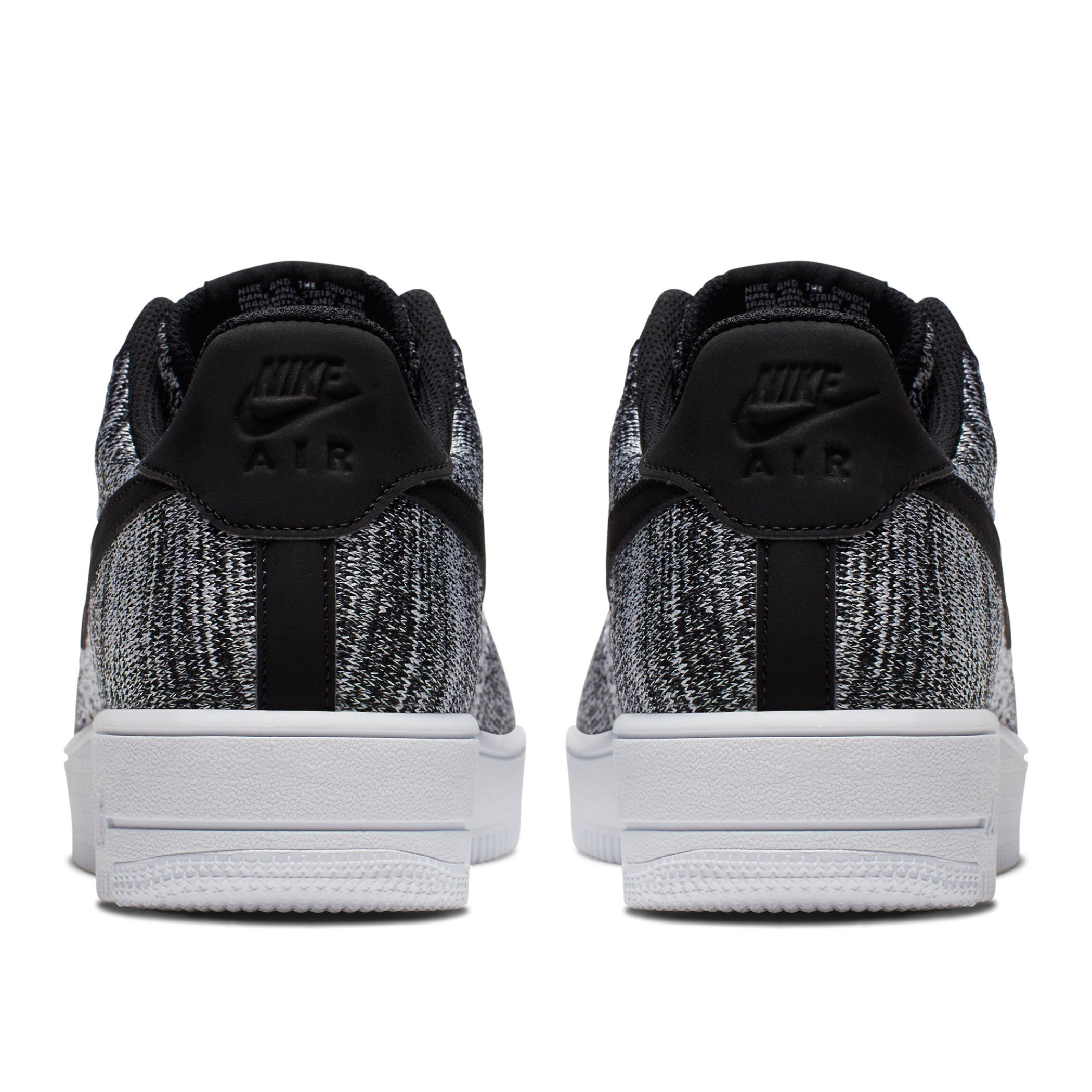 68484a72 Кроссовки Nike Air Force 1 Flyknit 2.0 Black/Pure Platinum-Black-White -