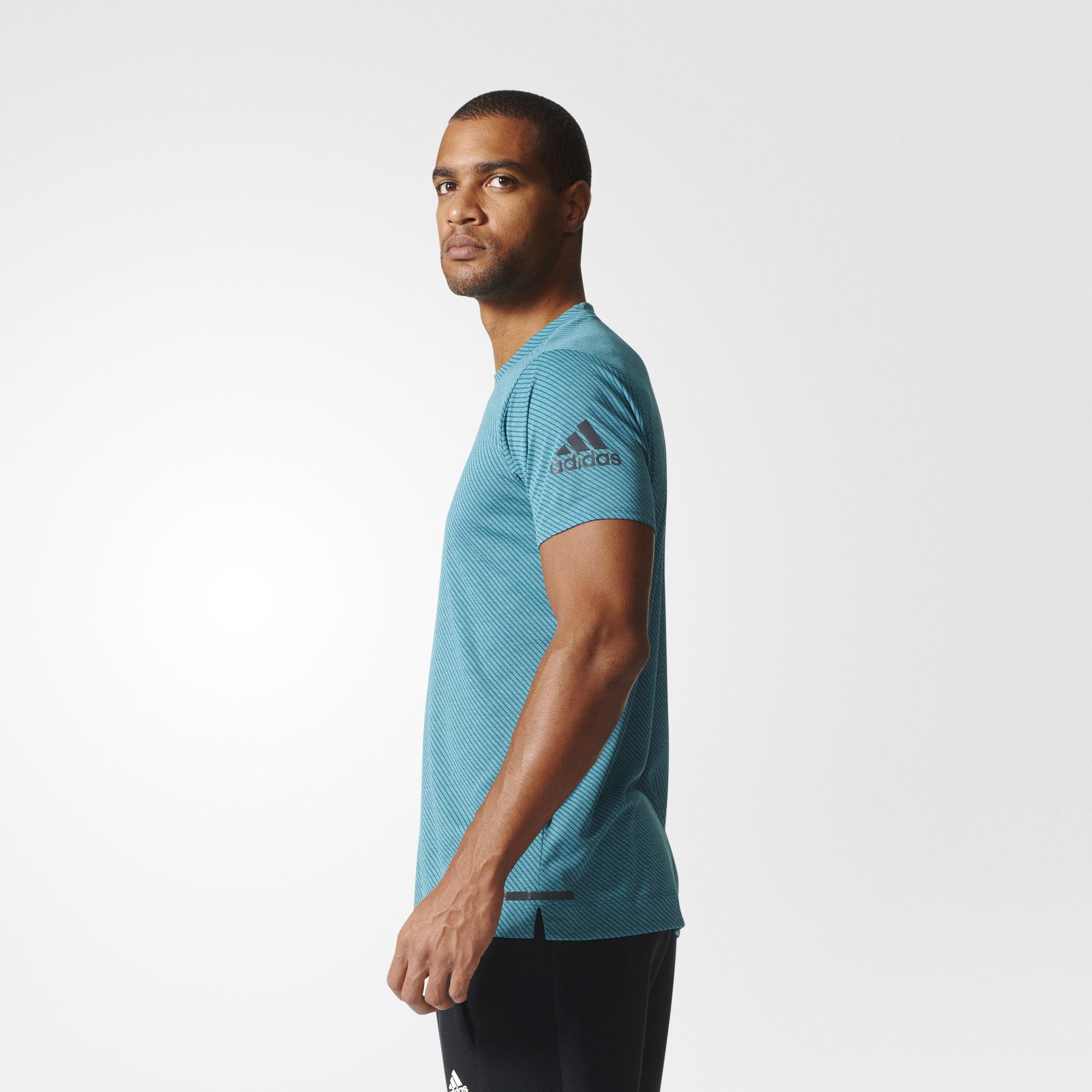 adidas freelift chill t shirt