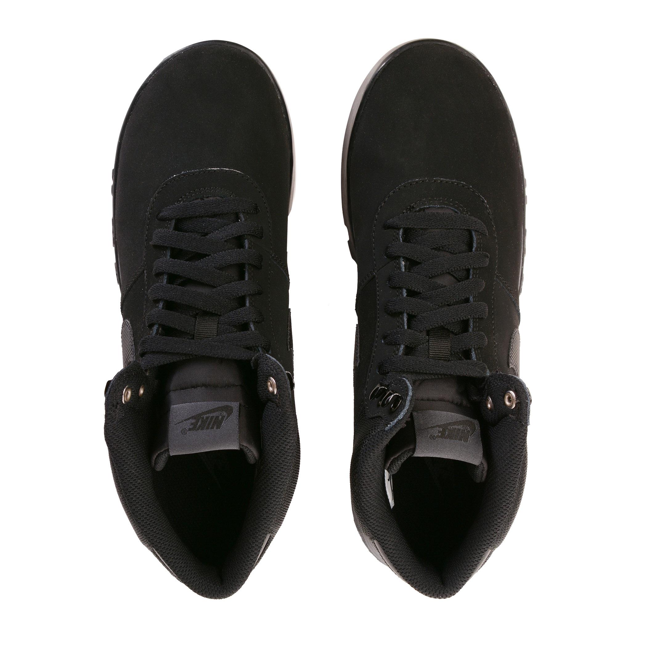 ba2c0c94 Мужские ботинки Nike Hoodland Suede Black/Black-Anthracite - фото 6
