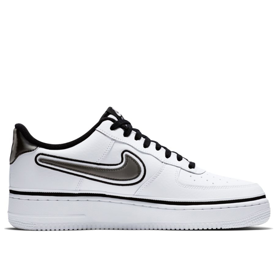 e8e71b0e Мужские кроссовки Nike Air Force 1 '07 LV8 Sport White/Black - фото 3