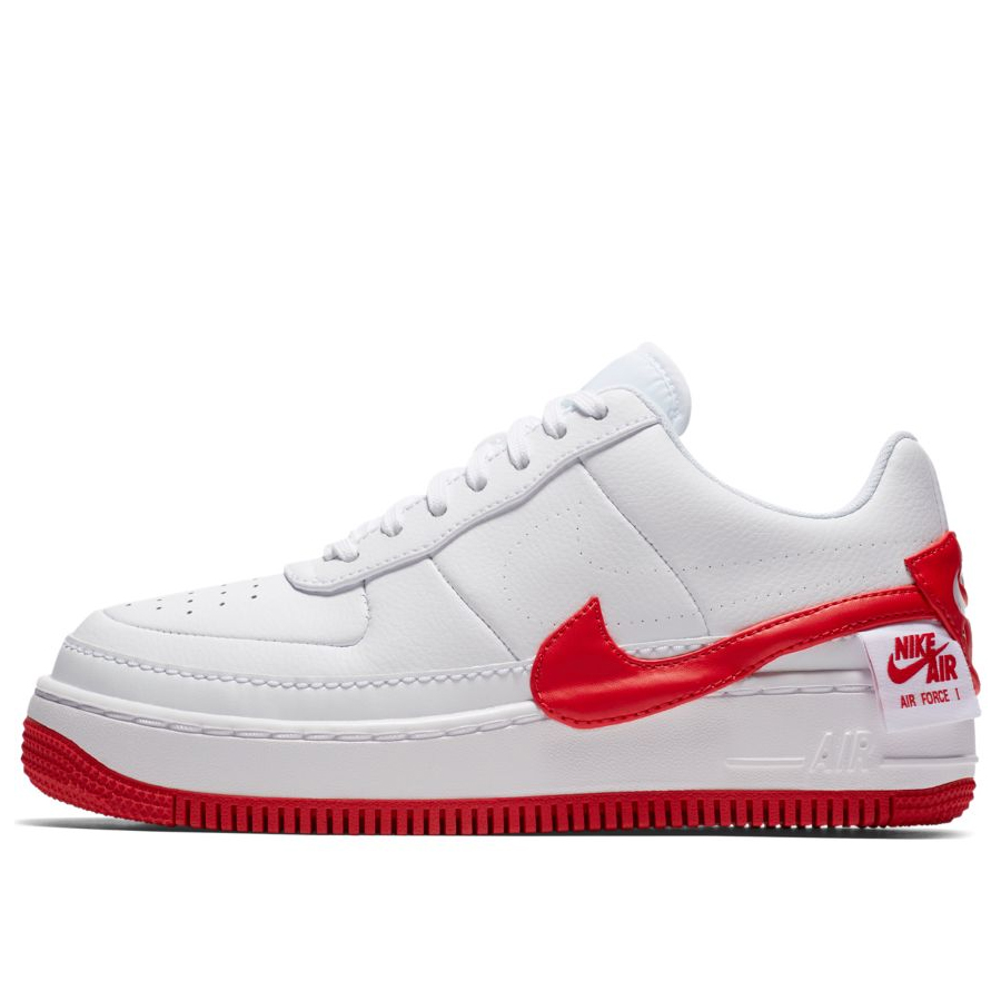 red and grey air force 1
