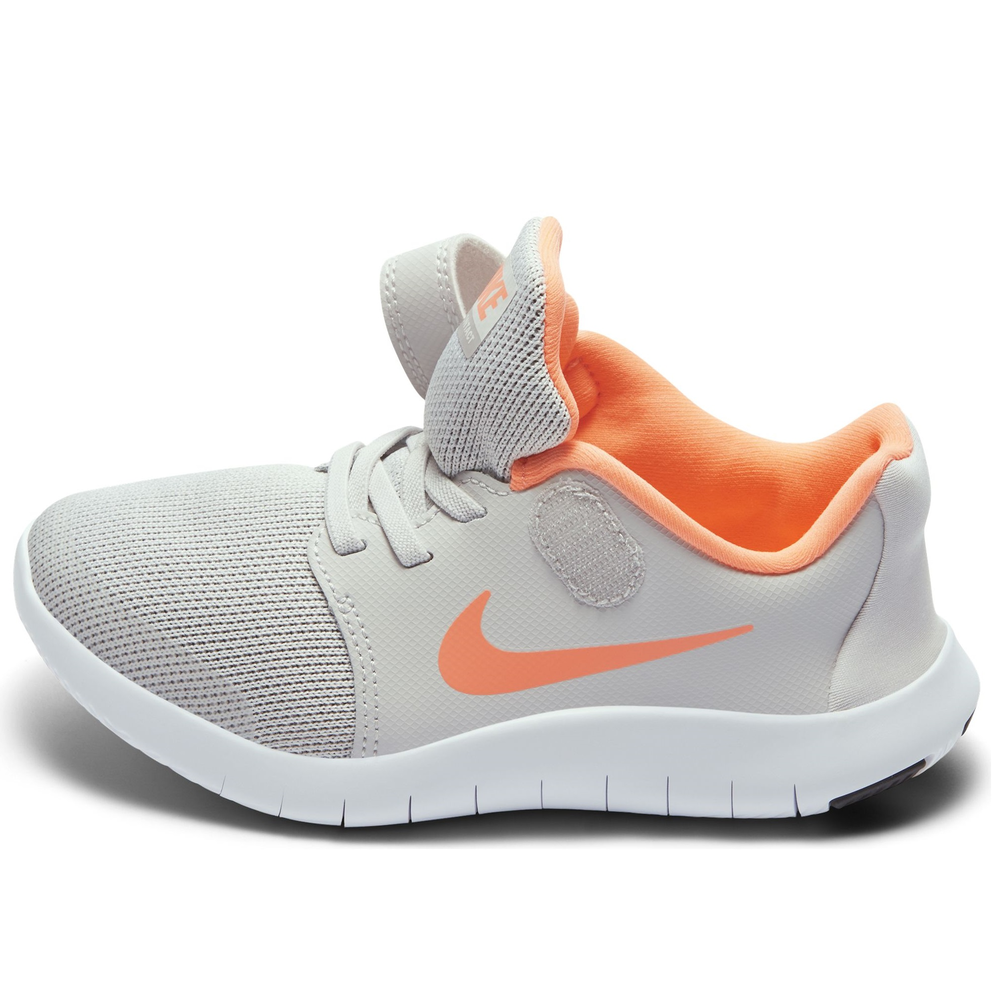 829ff205 Детские кроссовки Nike Flex Contact 2 Vast Grey/Crimson Pulse-Atmosphere  Grey - фото