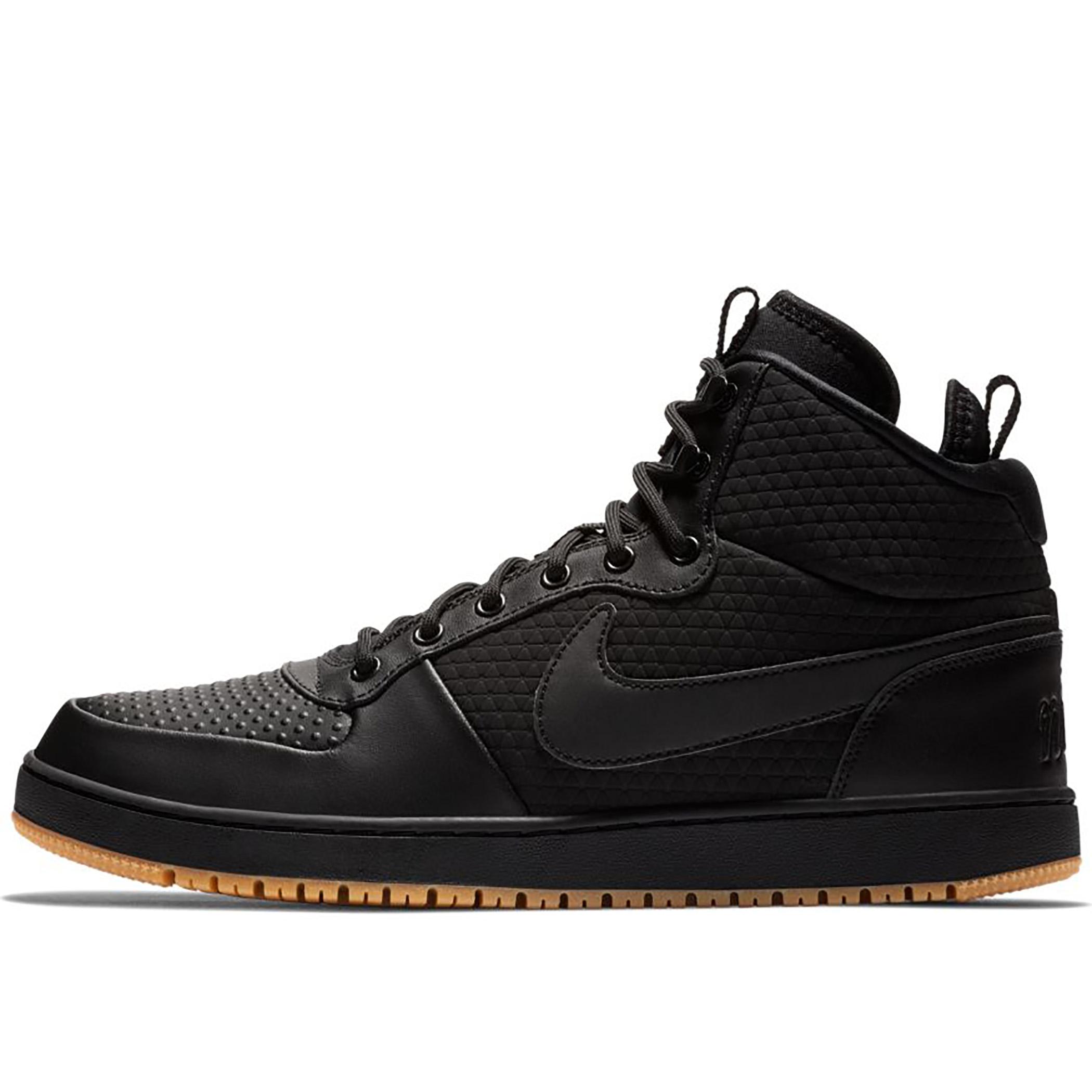 5ae00423 Мужские кроссовки Nike Ebernon MID Winter Black/Gum Light Brown - фото 1