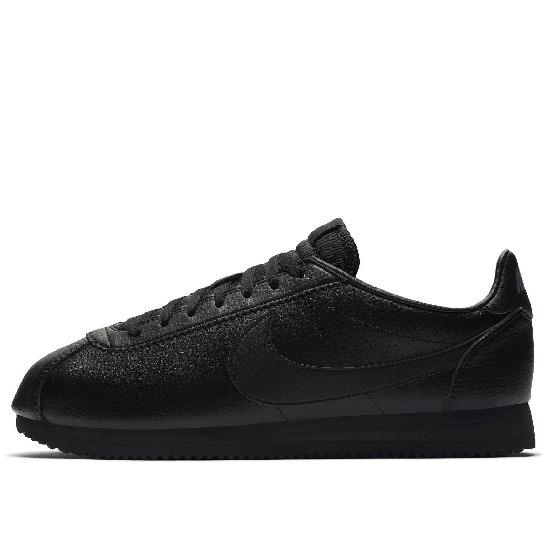 80391656 Мужские кроссовки Nike Classic Cortez Leather Black/Black-Anthracite - фото  1