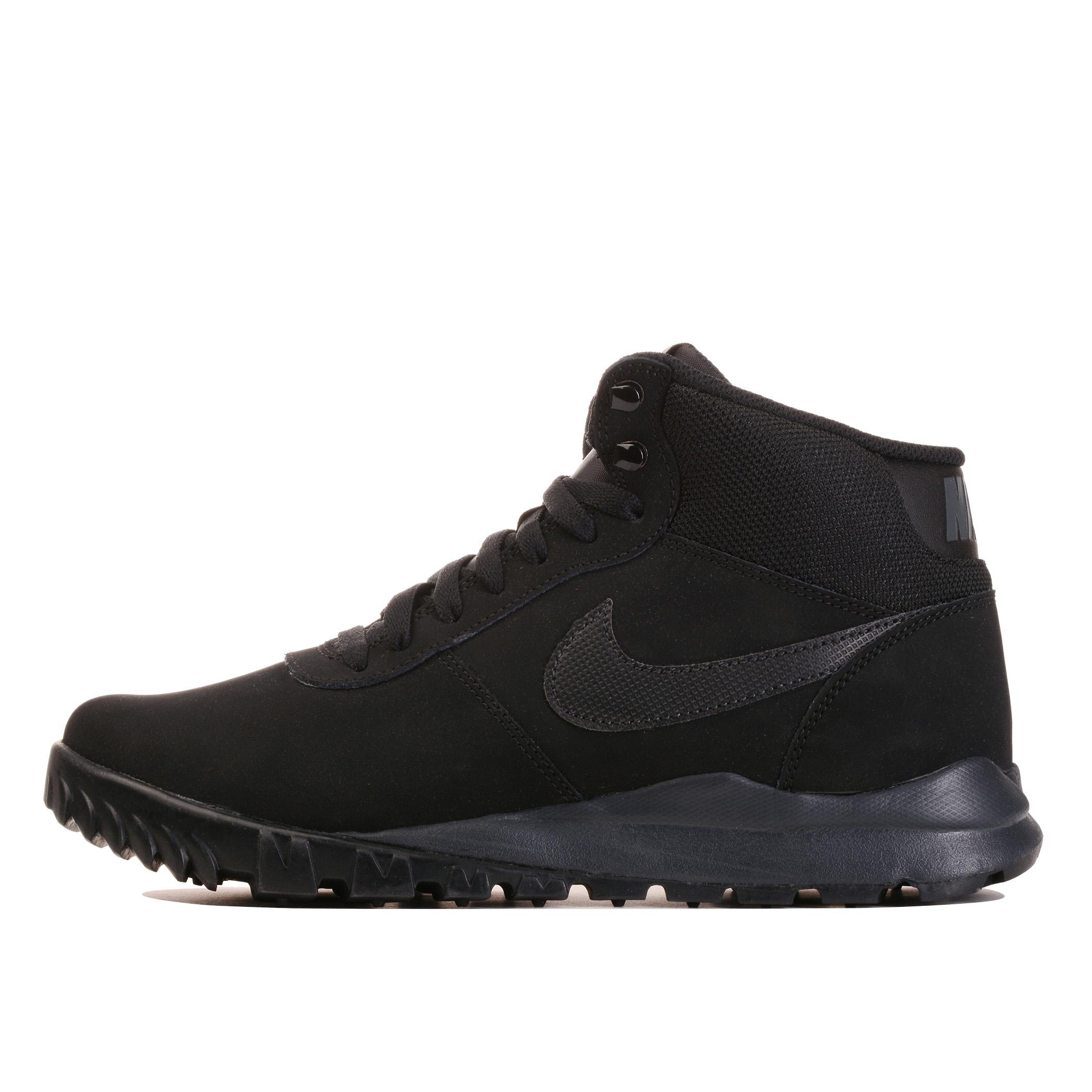 d51c353b Мужские ботинки Nike Hoodland Suede Black/Black-Anthracite - фото 1
