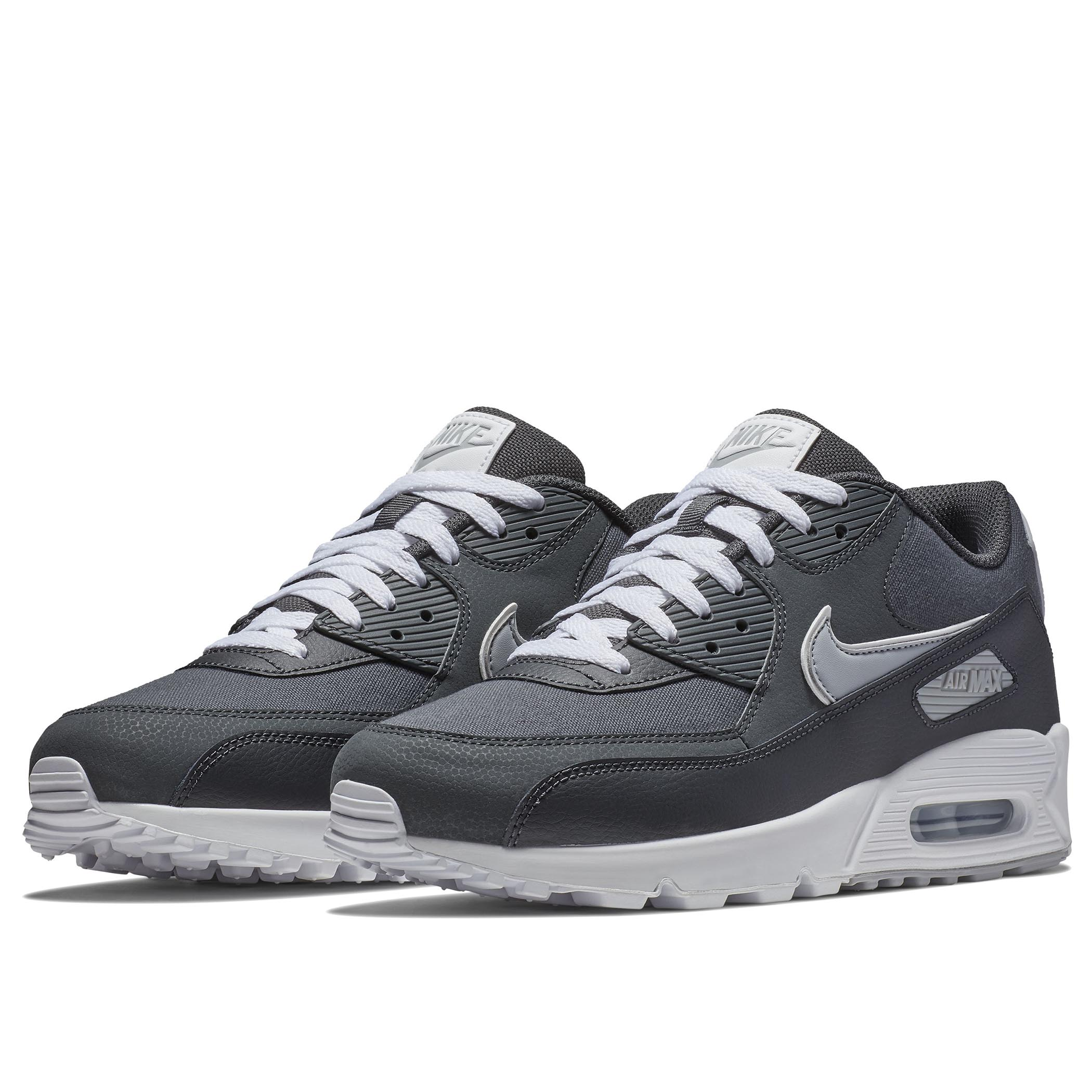 095f22ca Мужские кроссовки Nike Air Max 90 Essential Anthracite/Wolf Grey-White -  фото 2