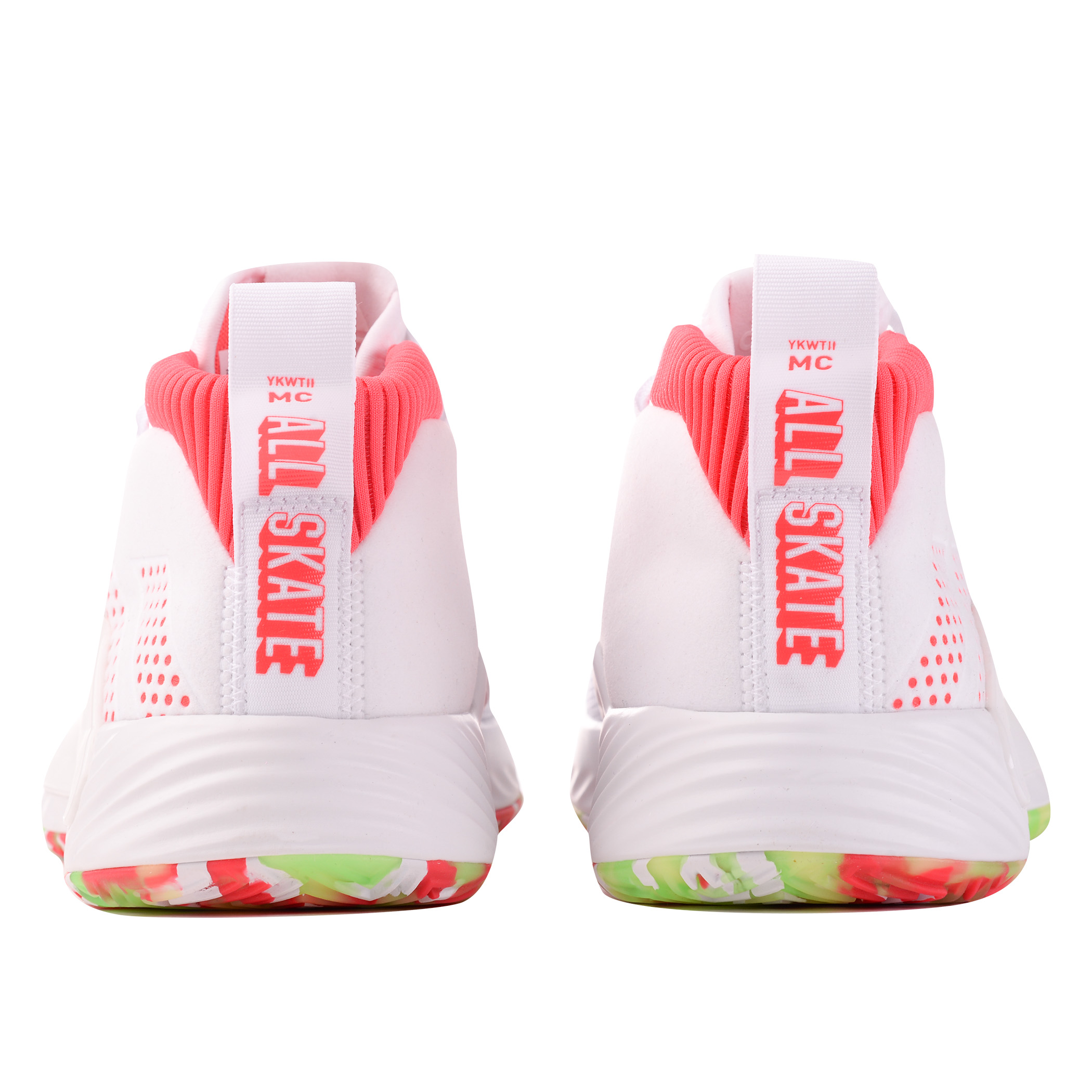 c9d748ca Мужские кроссовки adidas Performance Dame 5 Ftwr White/Shock Red/Crystal  White - фото