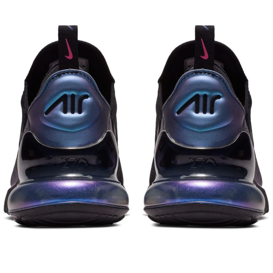 7b67e9f9 Мужские кроссовки Nike Air Max 270 Black/Laser Fuchsia/Regency Purple -  фото 4