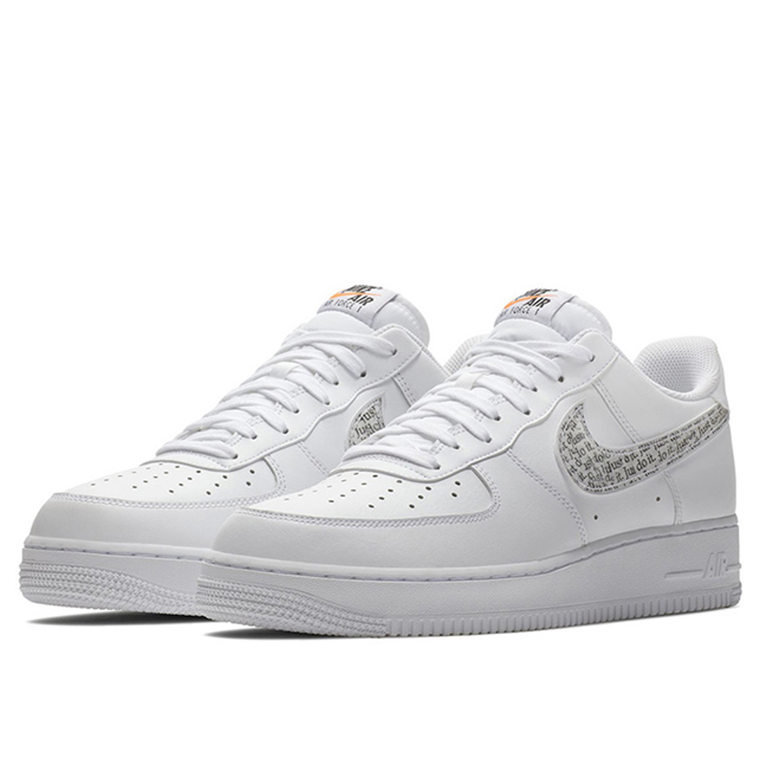 "da551f1159fd64 Мужские кроссовки Nike Air Force 1 '07 LV8 ""Just Do It"" Pack"