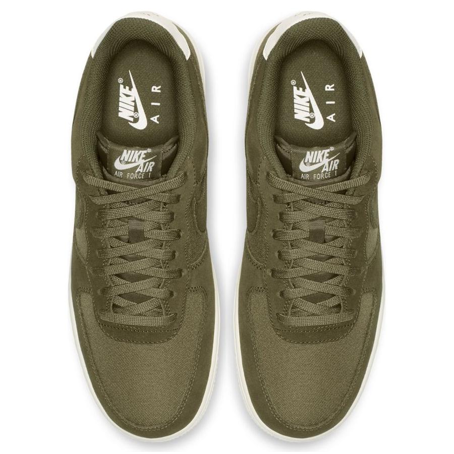 4215436a Мужские кроссовки Nike Air Force 1 '07 Suede Medium Olive/Sail - фото 5